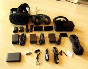 HTC VIVE PACKAGE DETAILS